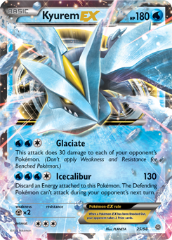 Kyurem ex xy ancient origins tcg card database - Carte pokemon kyurem blanc ex ...