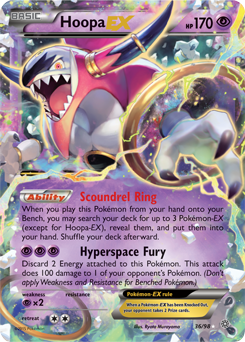 Hoopa Unbound Pokemon Card