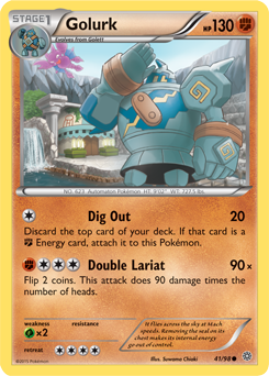 golurk xy ancient origins tcg card database pokemon com