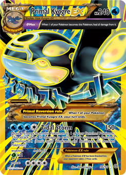Primal Kyogre primal kyogre-ex | xy—ancient origins | tcg card database
