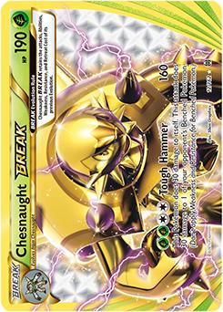 Chesnaught BREA... Pokemon Chesnaught Card