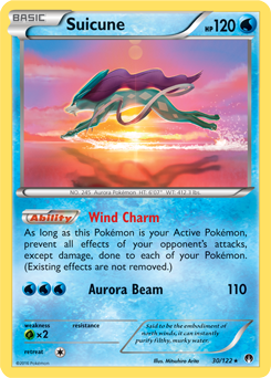 suicune xy�breakpoint tcg card database pokemoncom