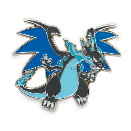 Pokemon TCG Mega Charizard X Pin With 3 Booster Packs