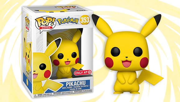 pikachu arrives as a funko pop pokemon com
