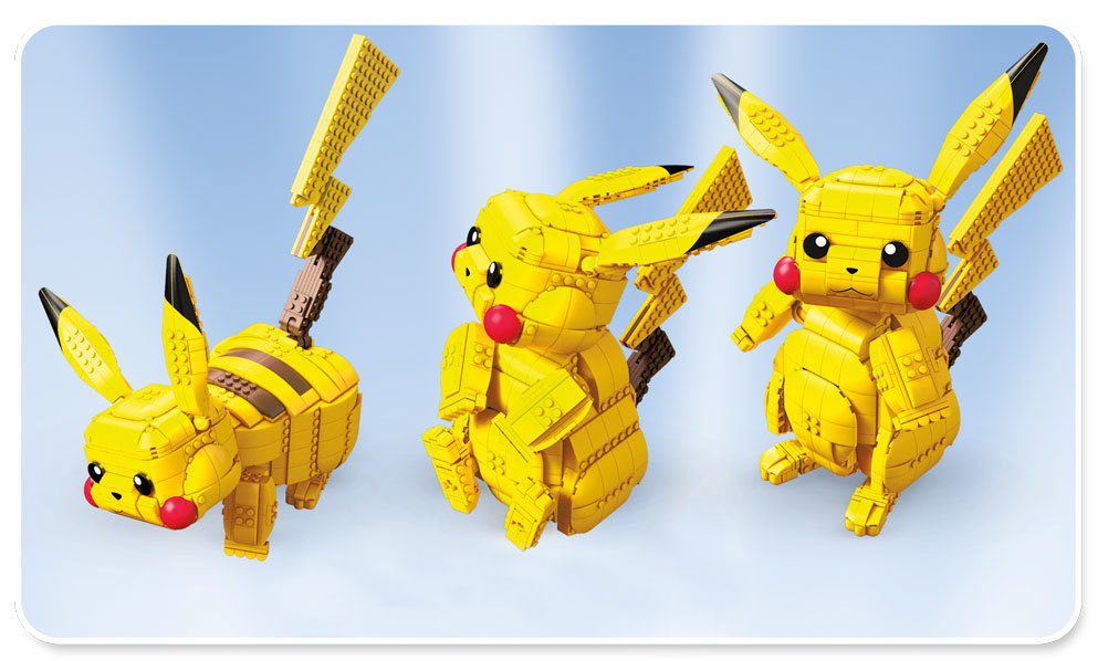 Build Your Own Pikachu!
