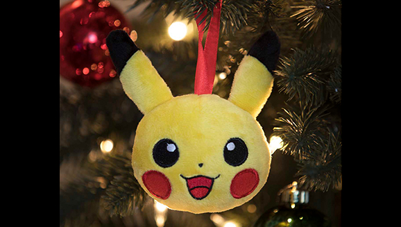 Pikachu Christmas Ornament.Have Yourself A Pikachu Holiday Pokemon Com