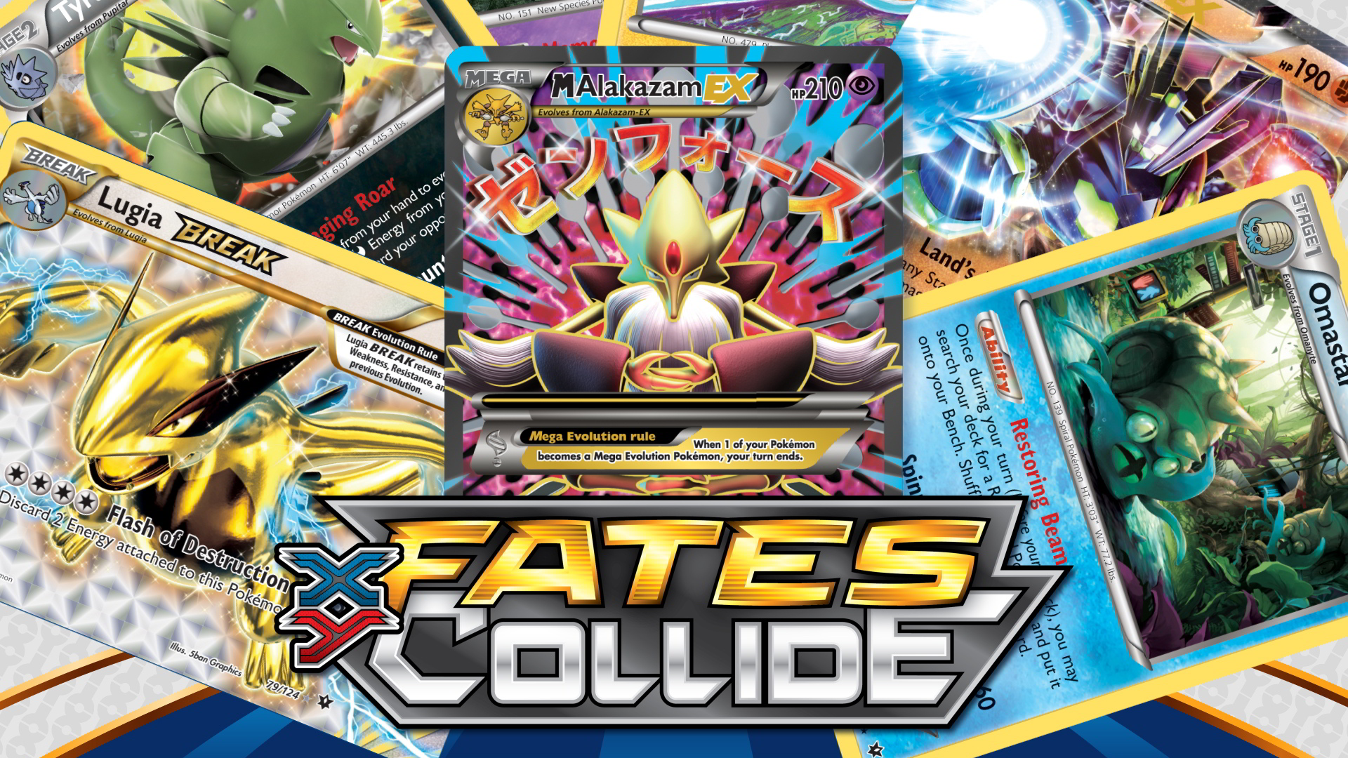 Xy Series Xyfates Collide Trading Card Game Pokemon