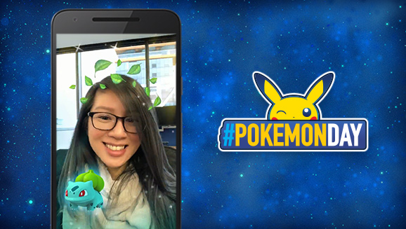 Resultado de imagen para pokemon day snapchat