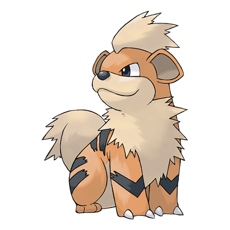 Growlithe | Pokédex
