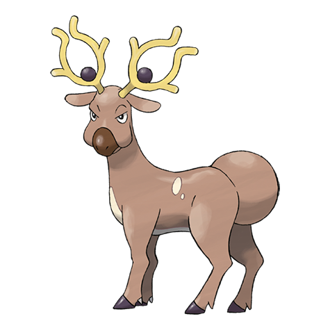 stantler pokemon coloring pages - photo#18
