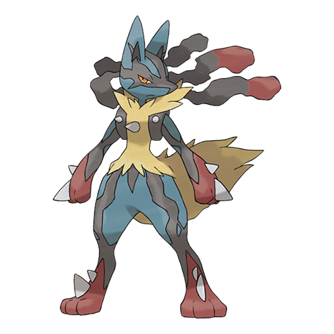 What steel type moves can lucario learn flame