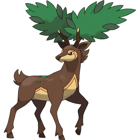 pokemon sawsbuck winter coloring pages - photo#29