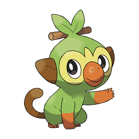 Grookey Pokedex Grookey, scorbunny, and sobble are the starting pokemon in pokemon sword and shield and as such, will probably follow the patterns we've seen in previous games. grookey pokedex