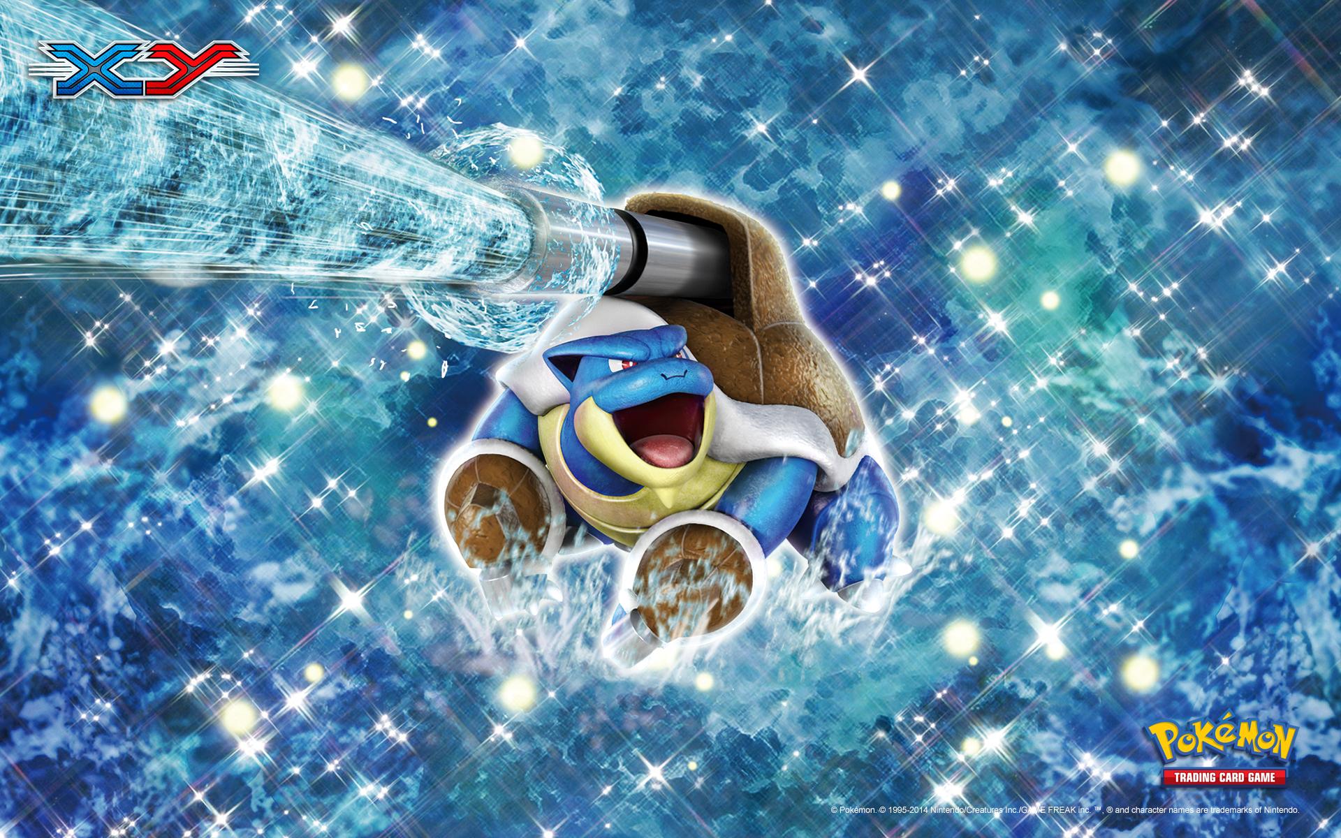 Pokemon X And Y Mega Blastoise Wallpaper