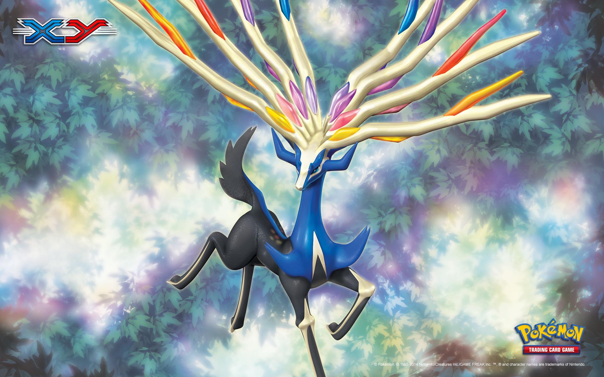 Pokemon Xy Wallpaper Xerneas