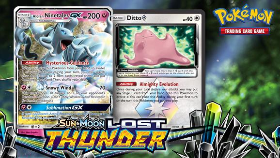 Finding the Stars of Sun & Moon—Lost Thunder | Pokemon com