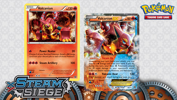 Bring The Heat With Volcanion Ex Pokemon Com