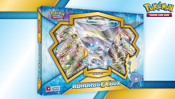 Pokémon Aurorus-EX Box