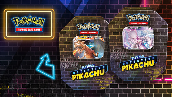 Pokemon Tcg Detective Pikachu Tin Pokemon Com