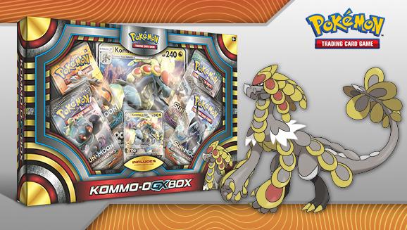 Pokémon Kommo-O-GX Box