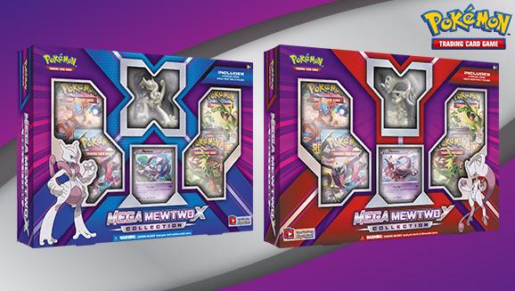 New in Box Pokémon Pokemon Mega Mewtwo X Collection Box Verzamelingen