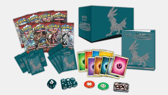 Pokémon TCG: Sun & Moon—Crimson Invasion Elite Trainer Box | Pokemon.com