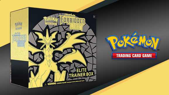 Pokémon TCG: Sun & Moon—Forbidden Light Elite Trainer Box | Pokemon com