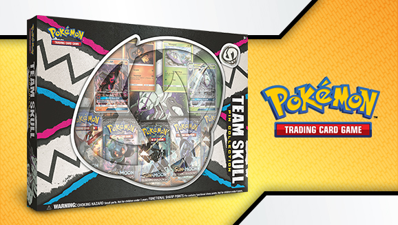 photo regarding Printable Pokemon Trading Cards named Pokémon TCG: Workers Skull Pin Range Providing Golisopod