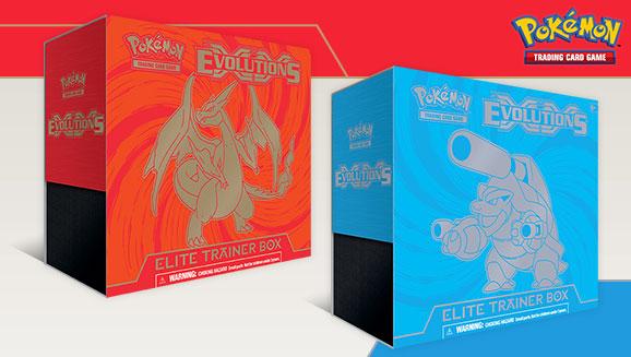 Pokemon XY 12 Evolutions Elite Trainer 2 BOX SET Charizard Blastoise NEW SEALED