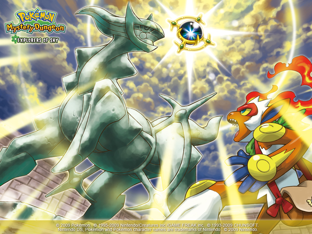 pokemon mystery dungeon explorers of sky free download
