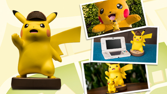 The Detective Pikachu Amiibo Is Huge Pokemon Com