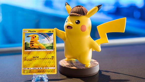 The Detective Pikachu amiibo Is HUGE!