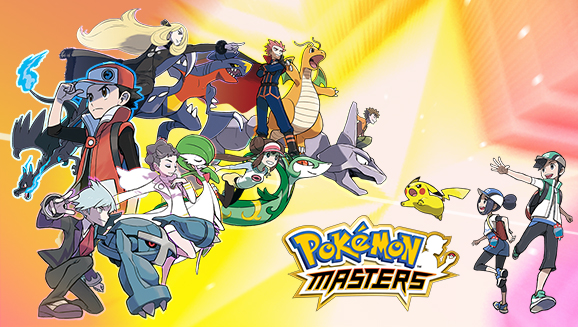 Pokemon Masters promotional wallpaper