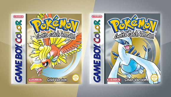 Image result for Pokemon Gold and Pokemon Silver