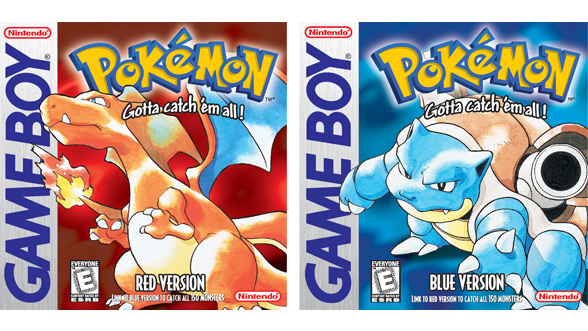 Pokemon Red & Blue Gameboy