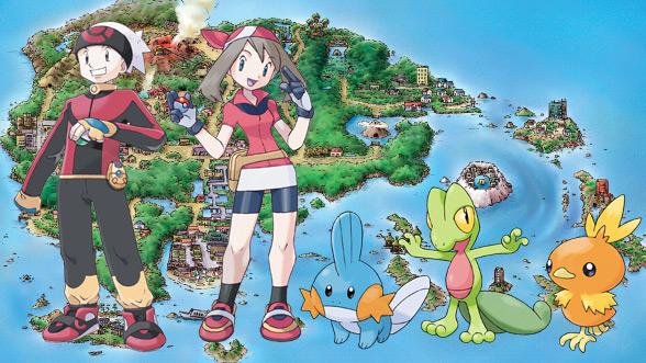 Pok mon ruby version and pok mon sapphire version pok mon video games - Pokemon saphir pokemon legendaire ...