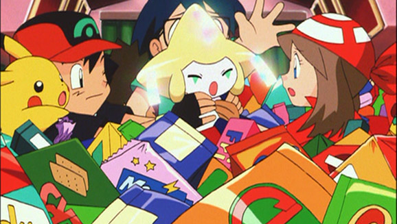 Pokemon Jirachi Wish Maker Pokemon Com