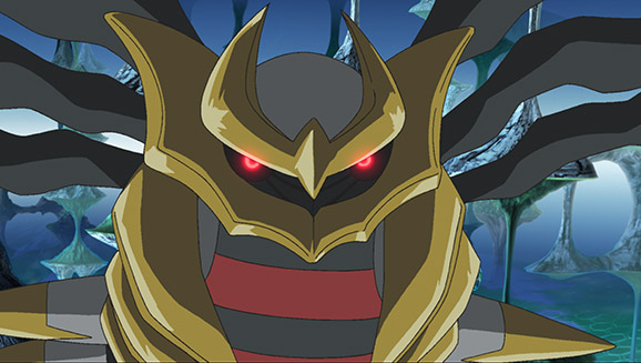 Pokemon Giratina The Sky Warrior Pokemon Com