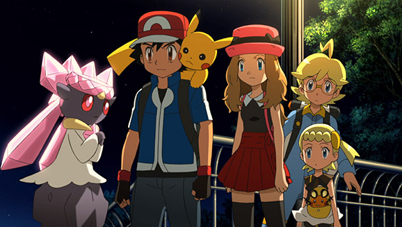 Pokemon The Movie Diancie And The Cocoon Of Destruction Pokemon Com