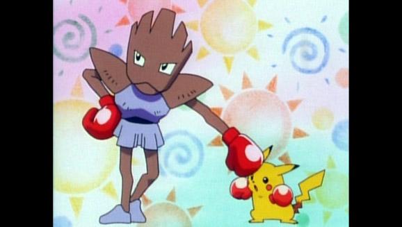 Le Pokémon qui a du punch !
