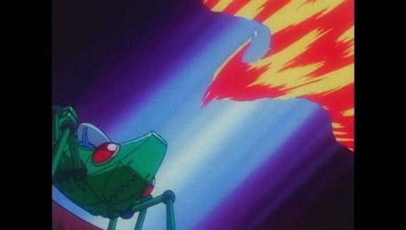 La Team Rocket met le feu