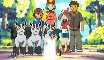 Dias perrunos TV Pokémon