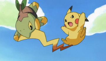 Pokémon Anime Sinnoh
