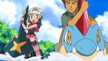 Anime Pokémon Diamante y Perla