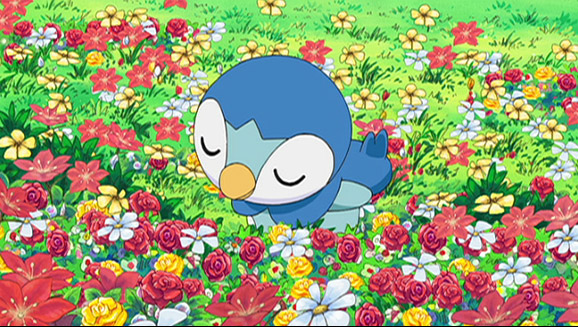 Piplup, Up and Away!
