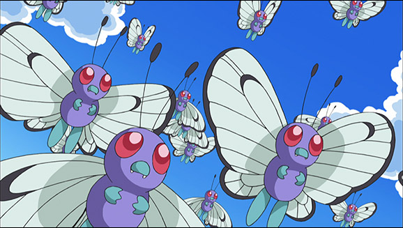 Butterfree e Eu!