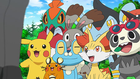Pokémon The Series Xy Kalos Quest Pokemoncom