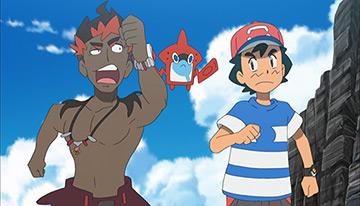 Ash capítulos episodios de Alola